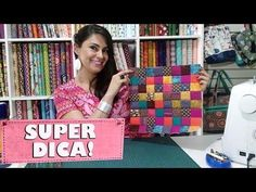 YouTube Tutorial Patchwork, Tumbling Blocks, Half Square Triangle Quilts, Hardanger Embroidery, Felt Art, Fabric Art, Hand Stitching, Diy And Crafts, I Am Awesome