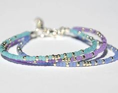 Items similar to Tiny bracelet for her Friendship bracelet Bohemian jewelry Bohemian bracelet Girlfriend Gift for her Daughter gift Sister gift Friend gift on Etsy Jewelry Shop, Beaded Jewelry, Jewelry Accessories, Handmade Jewelry, Jewelry Design, Fashion Jewelry, Jewelry Making, Beaded Bracelets, Layered Bracelets