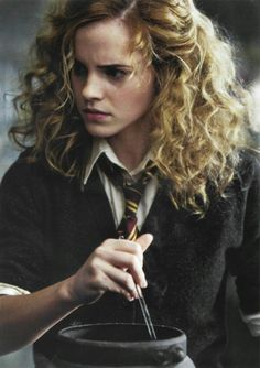 hermione's style of hair