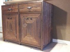 Entertainment Cabinet/ Bar made from by NewVintageHeights on Etsy