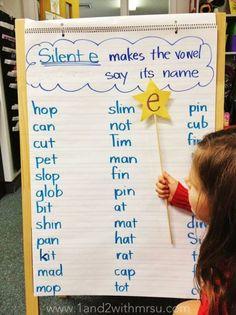 1 - silent e