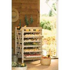 Glass Fresh Herb Keeper - How to Store Fresh Herbs   Gardeners.com ❤ liked on Polyvore featuring home and outdoors