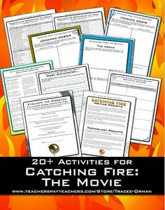 20+ Activities for Catching Fire: The Movie from www.hungergameslessons.com