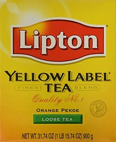 Lipton Tea Bags, Orange Pekoe Tea, Premium Tea, Thing 1, Tea Blends, Loose Leaf Tea, Drinking Tea, Healthy Drinks, Gourmet Recipes