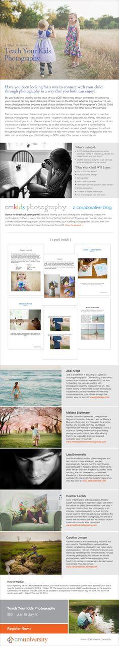 Teach your kids photograph!