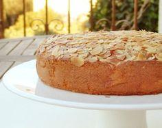 Gluten Free Almond Honey Cake Recipe / Wheat Free Organic Food / Almond Flour Healthy Recipe / Instant Download PDF Recipe