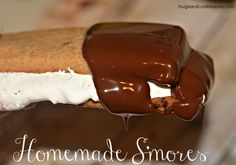 Homemade S'mores - Hugs and Cookies XOXO