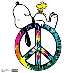 Snoopy and Woodstock! Peace and Love forever!
