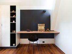 Home Office Parede Preta