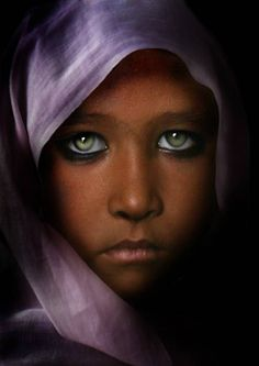 Green eyes from National Geographic