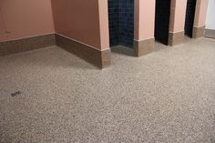 Epoxy Flooring in a restroom
