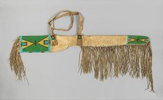 Sioux Gun Case, c 1880
