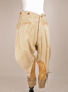 VTG French Hunting Pants 1920'S Jodhpurs VTG Riding Pants 1930'S Cord Pants | eBay