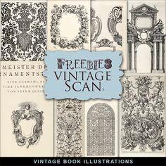 Freebies Vintage Book Illustrations