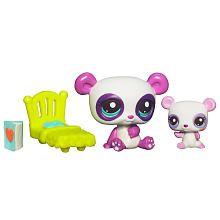 Littlest Pet Shop Baby and Mommy Pet - Panda ja että
