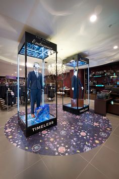 Ted Baker Retail Interior | House Of Fraser, London, 2014 by Millington Associates