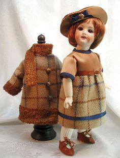 Twenties Coat and Dress ~ LSDS ~ BLEUETTE