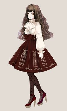 lolis anime with old dresses - Buscar con Google