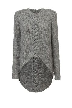 Hand knitted sweater - Charco |