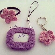 My handmade crochetting stuff..