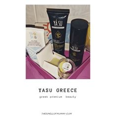 YA SU greek natural beauty care - The Smell of Mommy My Beauty, Beauty Care, Natural Beauty, Beauty Review, Greek, Naturally Curly, Curly Bob, Posts, Lifestyle