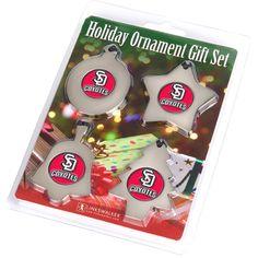 South Dakota Coyotes NCAA Ornament Gift Pack