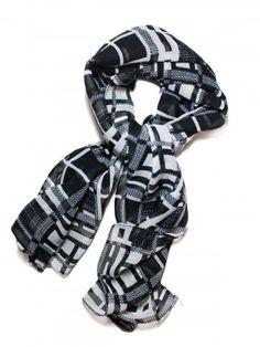WOMEN SCARF BLACK [CJ0220-1001] - Rs199.00 : FEEROL FASHIONS, The Fashion Collection