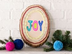 Find and shop thousands of creative projects, party planning ideas, classroom inspiration and DIY wedding projects. All You Need Is, Wine Wall Decor, Wood Slice Crafts, String Art Tutorials, Wood Name Sign, Rustic Centerpieces, Diy Wedding Projects, Wood Slices, Craft Party