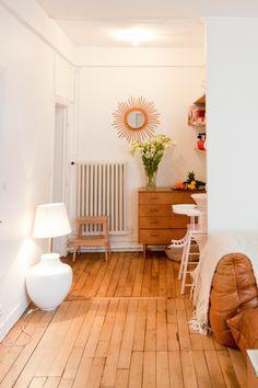 Julie Rouby — Creative Agent, Apartment & Neighborhood, Le Marais, Paris.