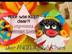 SINTERKLAAS 'Hoor wie klopt daar?' - liedje, knutsel & homemade schmink #sinterklaas #liedje #knutsel