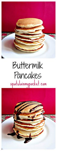 Thick, fluffy, downright delicious. This is the only pancake recipe you need!
