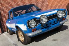 """1978 Mark 1 Ford Escort in """"Fast and Furious 6"""" 2013"""