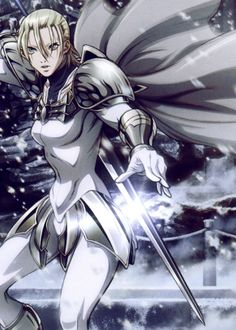 Jean is so the best character in claymore