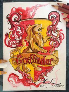 127- Gryffindor by Lucky978.deviantart.com on @DeviantArt