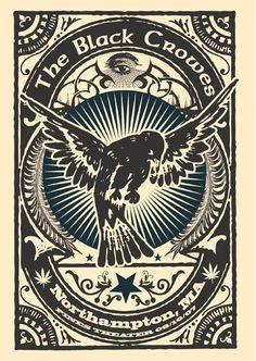GigPosters.com - Black Crowes