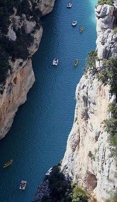 Gorges du Verdon, Marseille, France | by laurent champoussin