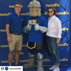 #Repost @wsureslife  President Maloney and his wife joined us today for First Year Move In. Chandler couldn't resist posing for a pic! #woolife