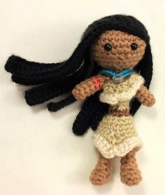 Has really great characters to crochet.  Buy Pocahontas doll amigurumi pattern - AmigurumiPatterns.net