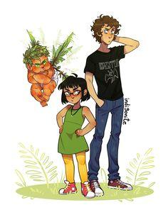 Meg and Apollo