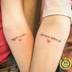 42 Meaningful Couple or Friends Tattoo Ideas – Tattoo Designs