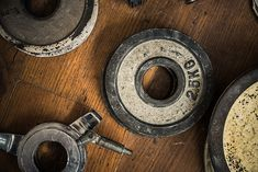 Vintage Gym Weights by mrdoomits. Detail Of Some Vintage Gym Dumbbell Weights Against A Rustic Wooden Floor Gym Dumbbells, Comida Keto, Diet Recipes, Healthy Recipes, Gym Weights, Background For Photography, Ketogenic Diet, Vintage, Carne Asada