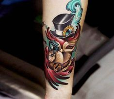Little Owl tattoo by Andrey Stepanov