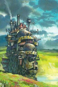 Howl's Moving Castle; Studio Ghibli