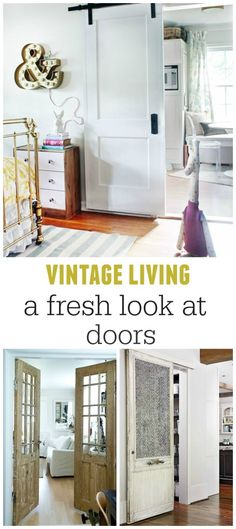 cityfarmhouse A Fresh Look At Farmhouse Doors http://cityfarmhouse.com/2015/04/a-fresh-look-at-farmhouse-doors.html via bHome https://bhome.us