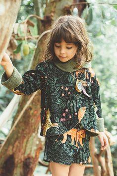 That print!! | Inverno 2015 | A Fábula #estampados #printed #verdes #figurativos #FocusTêxtil