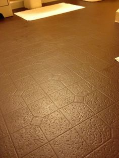 Aprons and Stilletos: How Long Will Painted Vinyl Floors Last?
