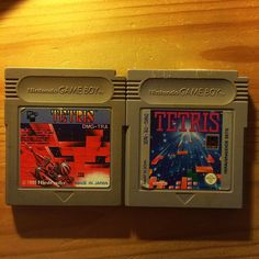 On instagram by thejonny272 #gameboy #microhobbit (o) http://ift.tt/1PtCFNA a comparison between Tetris Games  For gameboy: on the left side is the Japanese release and the right the European one. In my opinion the Japanese one looks cooler But the joke is: it's the exact same game on both cartridges  If you are a collector and/or Love Video Games and/or pokemon as much as i do please Like and follow for more awesome pics of pokemon and video Game stuff upcoming Daily   #classic #modul…