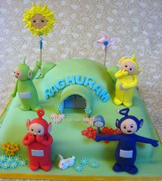 Teletubbies for 1st birthday by Mama Min, via Flickr