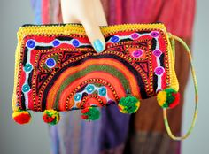 Beautiful Hand embroidered clutch bag,Sindhi embroidery bag,Handmade bags,Clutches,Evening bags,Banjara bags,Fabric bags,Pouches,Handbags by ZsTribalTreasures on Etsy