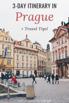 Wondering how to spend three days in Prague? This three day Prague itinerary covers the city's most famous sights, some of its lesser known gems, and includes travel tips for where to stay, where to eat, and the best time to visit Prague. Europe Travel Tips, European Travel, Travel Guides, Travel Destinations, European Vacation, Travel Expert, Traveling Tips, Travel Info, Budget Travel